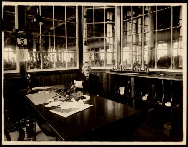 Arthur Wylde, overseer of machine engravers
