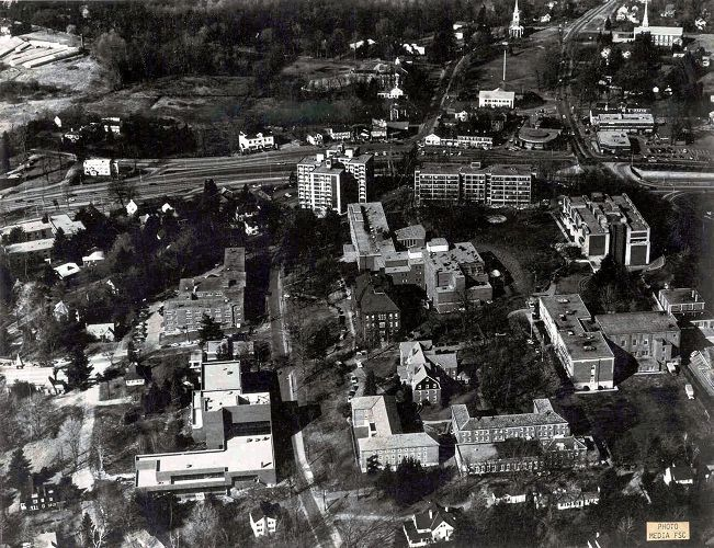 1976 Birds eye view of Framingham State