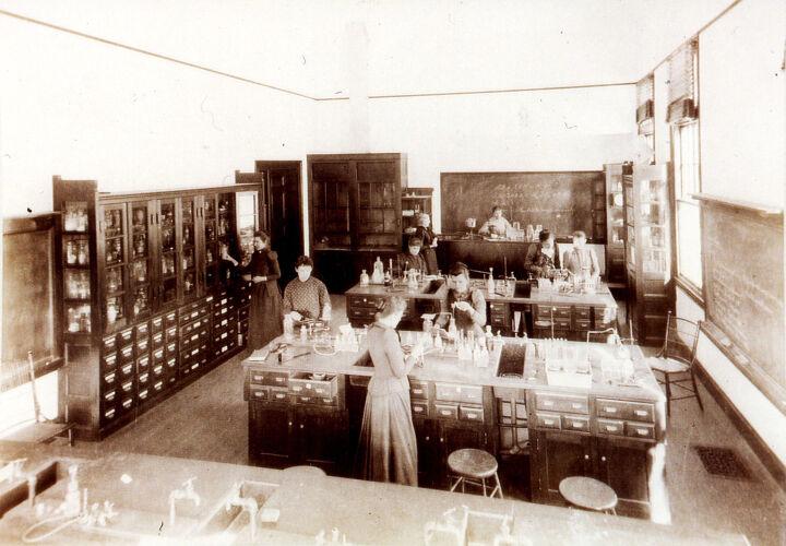 Chemistry Lab c.1890