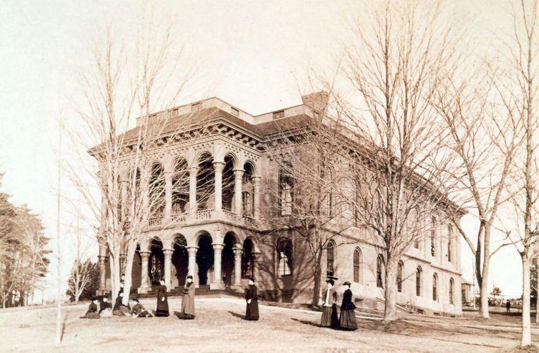 Normal Hall, c.1860