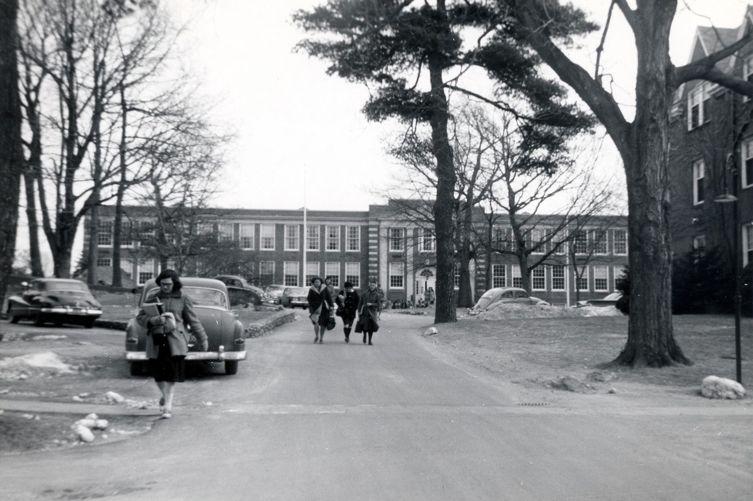 Dwight Hall, c. 1960
