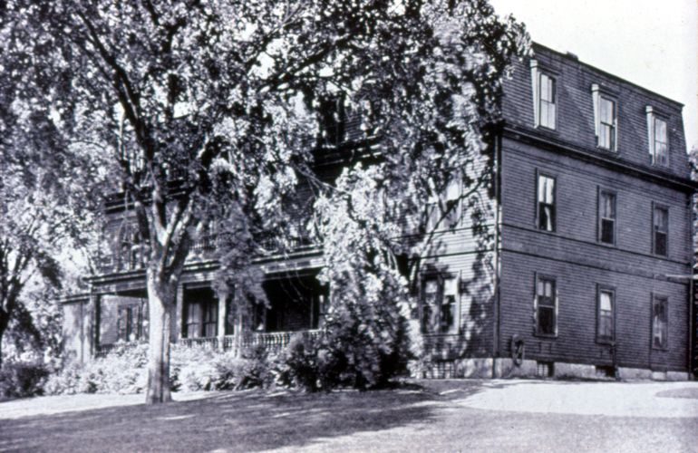Normal Hall, 1869 - Dormitory Building
