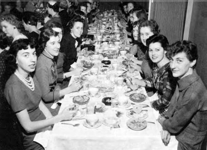 Commuter's Club Christmas Banquet 1960