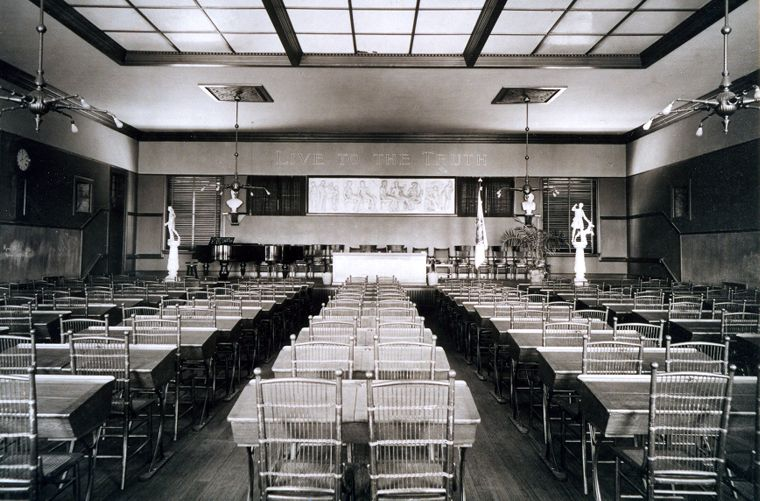 The Assembly Room, May Hall, c.1890