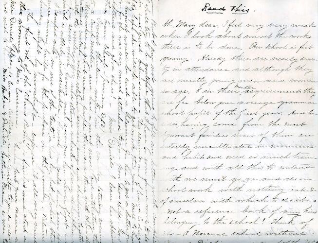 Olivia Davidson Letter