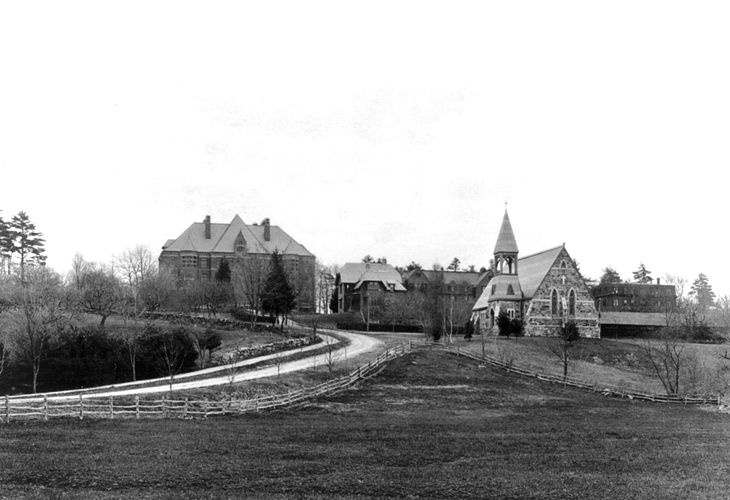 A View Up Maynard Road, c.1890