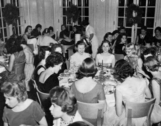 Christmas Banquet 1960