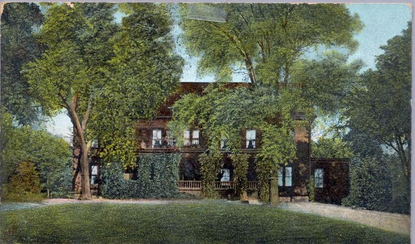 Normal Hall Dormitory Postcard c. 1900-1914
