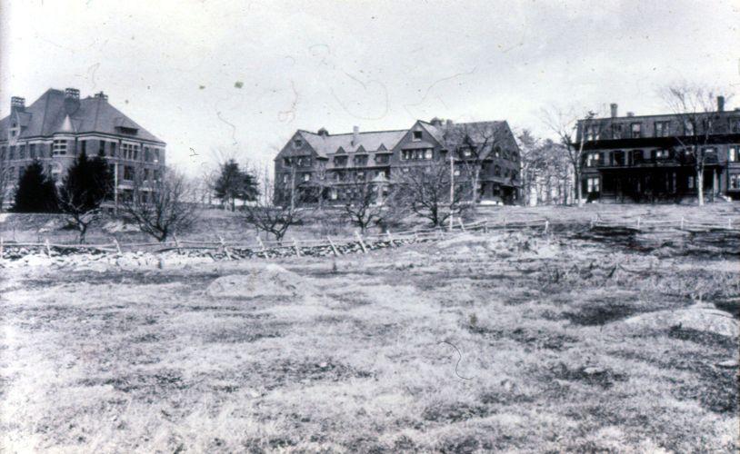 Three Historic Buildings on Bare Hill Framingham Campus c. 1889-1913