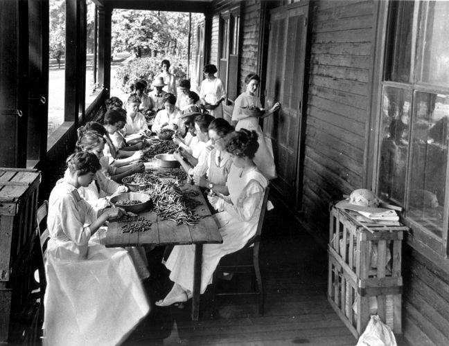 Preparing the Food c.1910