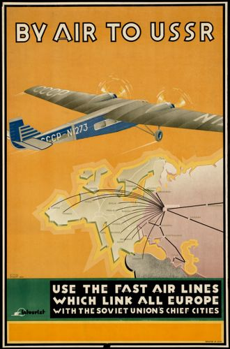 By air to USSR