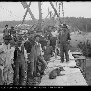 Massachusetts Metropolitan Water Works Photograph Collection, 1876-1930 (bulk, 1895-1921)