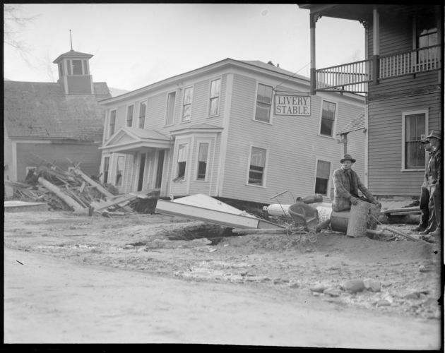 Flood in Colebrook, N.H.