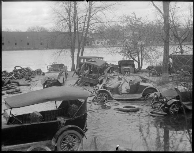 Wake of the flood, Springfield, MA