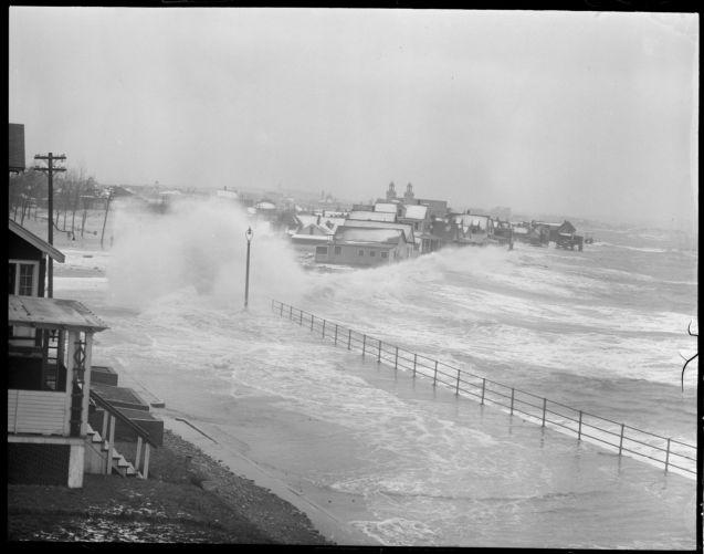 Storm raises havoc along Beachmont