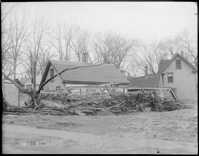 Flood damage, Colebrook, N.H.