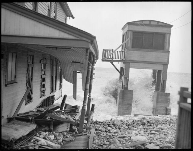 Storm raises havoc at Roughan's Point, Beachmont, Revere