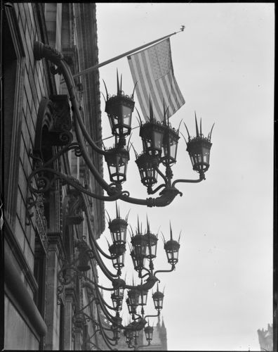 Lanterns on Boston Public Library