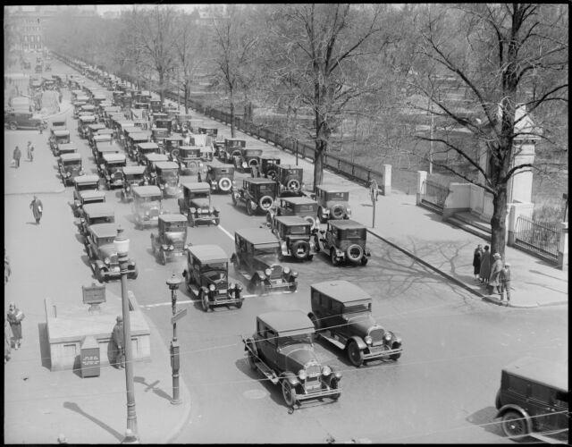 Arlington Street traffic