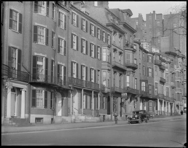 Beacon Street, Beacon Hill