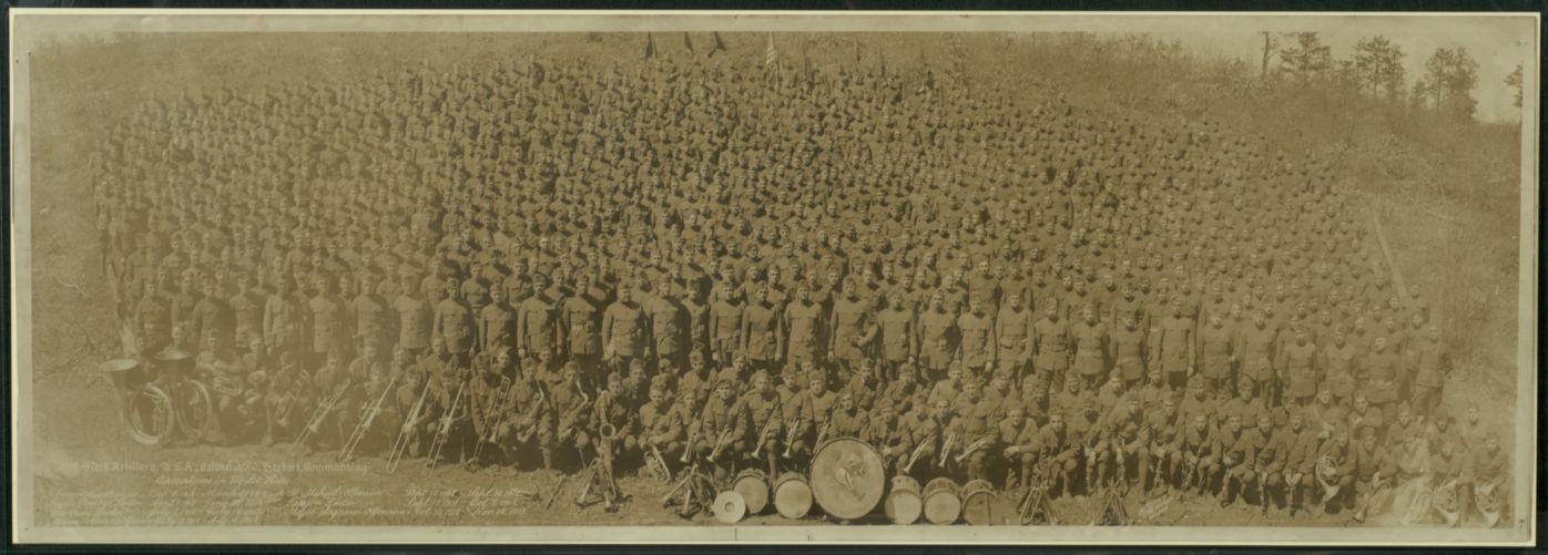 102nd Field Artillery, USA, Colonel J.F.J. Herbert, commanding
