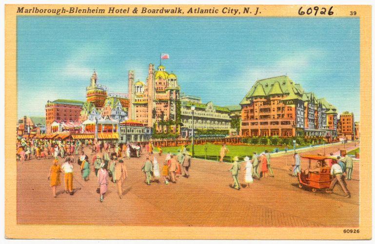 Marlborough-Blenheim Hotel, Atlantic City, N. J.