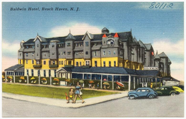 Baldwin Hotel, Beach Haven, N. J.