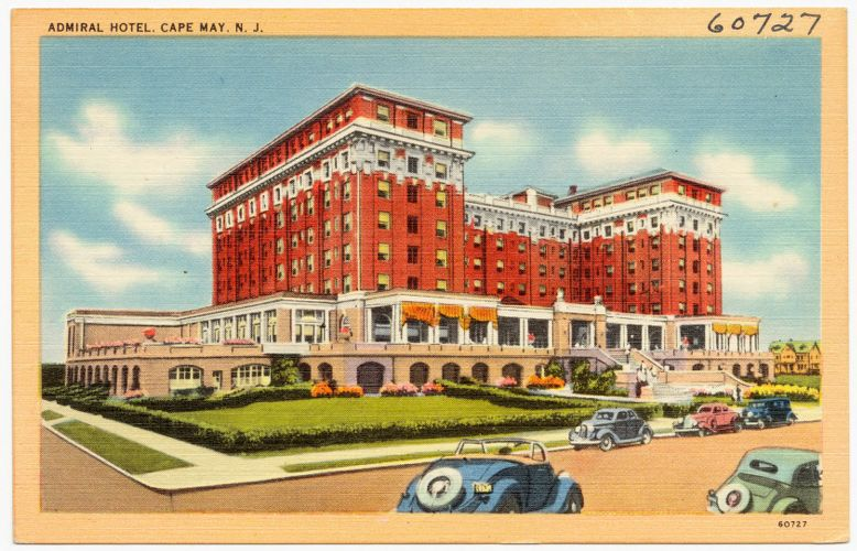 Admiral Hotel, Cape May, N. J.