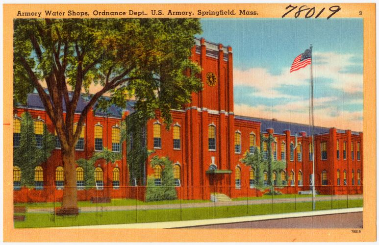 Armory Water Shops, Ordnance Dept., U. S. Armory, Springfield, Mass.