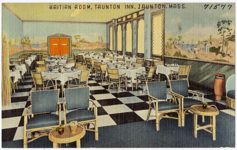 Haitian room, Taunton Inn, Taunton, Mass.