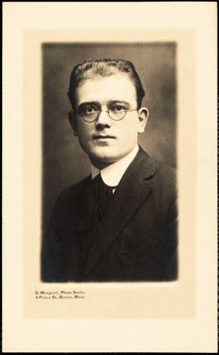 Aldino Felicani, ca. 1915