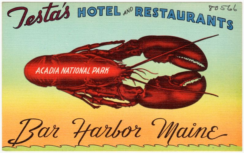 Testa's Hotel and Restaurants, Acadia National Park, Bar Harbor, Maine