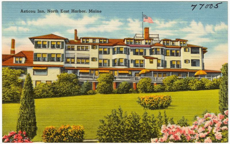 Asticou Inn, North East Harbor, Maine