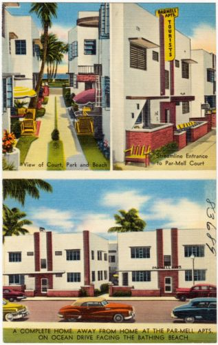 A complete home away from home at the Par-Mell Apts. on Ocean Drive facing the bathing beach