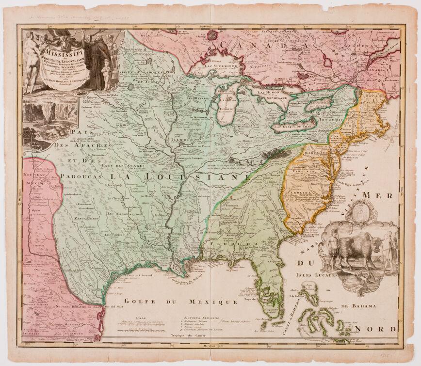 Amplissima regionis Mississipi