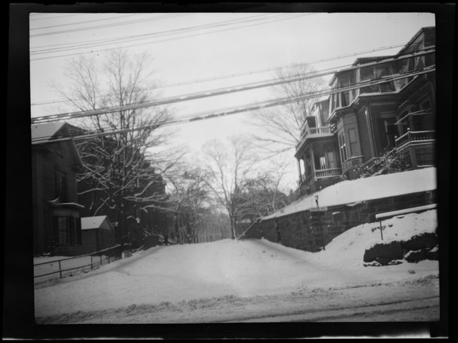 42 Highland Ave, Roxbury, Mass., view from Centre St.