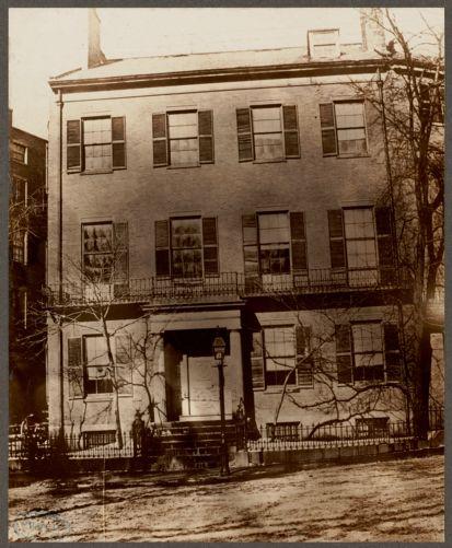 Daniel Webster's home. High Street