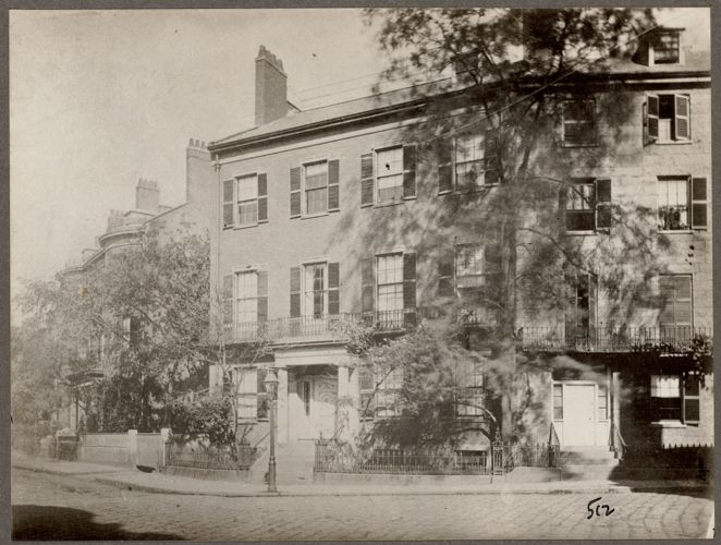 Webster, Daniel, home. High Street, Boston