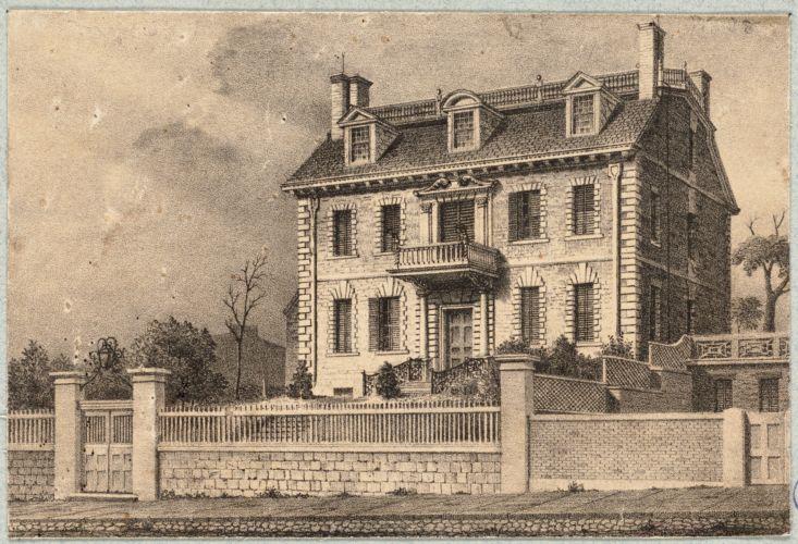 Boston, Massachusetts. Hancock House