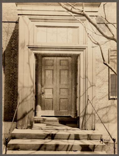 Massachusetts. Boston. 2 Lynde Street. Harrison Gray Otis House. Entrance