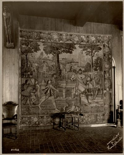 "Boston. Fenway Court. Flemish Tapestry room. One of the ""Grand Duke"" tapestries"