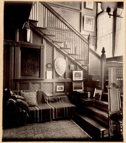 Colonel Higginson's hallway