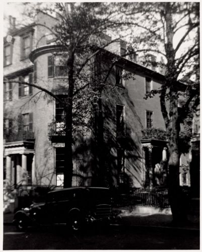 29 A Chestnut Street, Charles Bulfinch, architect - 1799