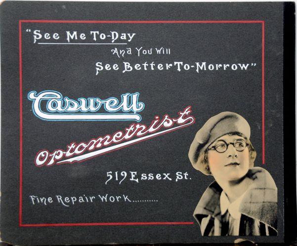 Caswell Optometrist 519 Essex St.