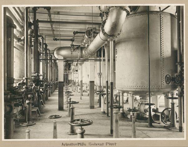 Arlington Mills, solvent plant