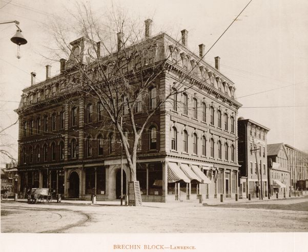 Brechin Block, Lawrence