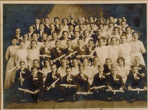 Wetherbee School class of 1911