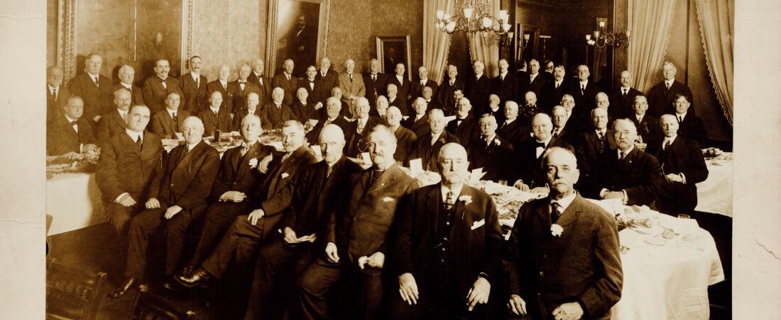 Mass. Legislature, 1888, 25th anniversary reunion, Young's Hotel