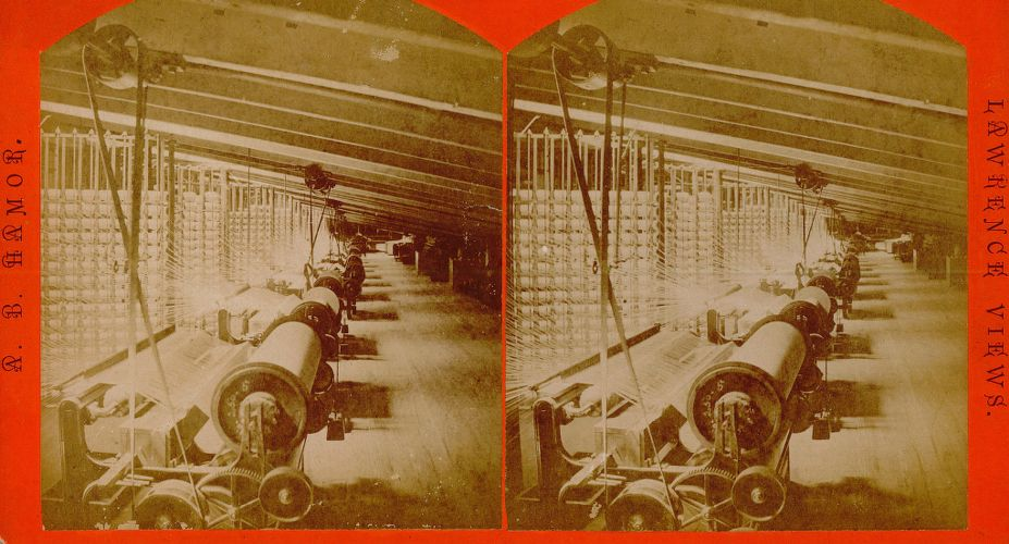 Spooling rooms, Pacific Mills