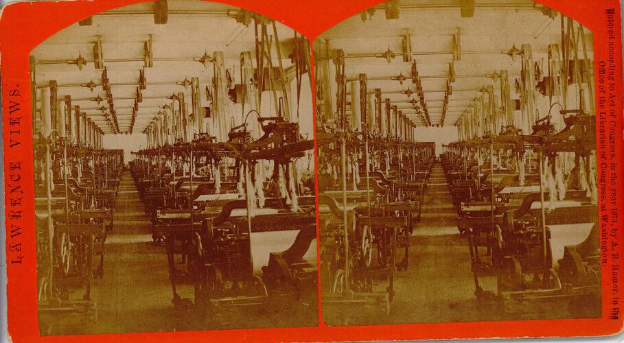 Jacquard weaving, Pacific Mills